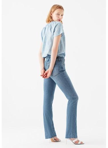 Mavi Mona Gold Puslu Mavi Jean Pantolon Mavi